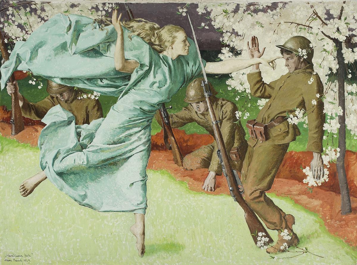 """""""Krzycząc: Polska! Niepodległa 1918"""" wMuzeum Narodowym wWarszawie"""