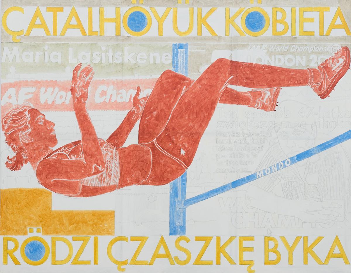 """""""Rok rzeźby"""" Marka Sobczyka wBWA Zielona Góra"""