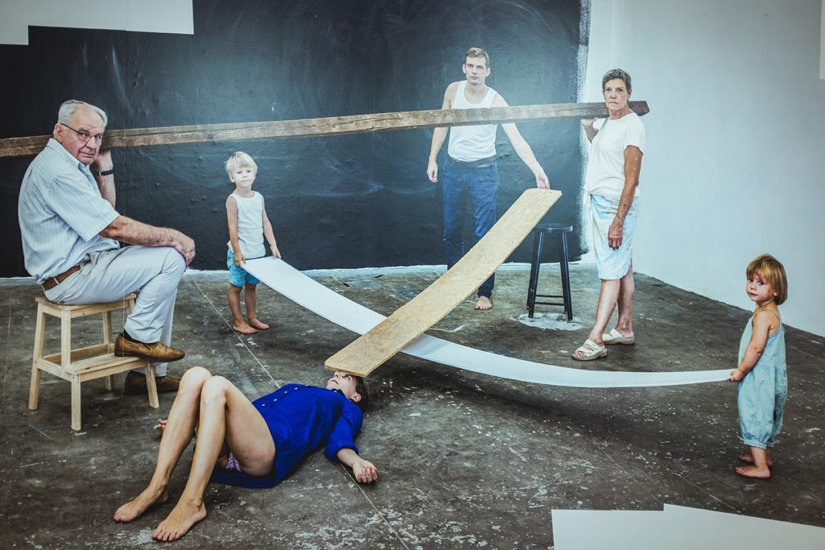 """""""Geometria wyobraźni"""" Sputnik Photos iPetera Puklusa wGdańskiej Galerii Miejskiej"""
