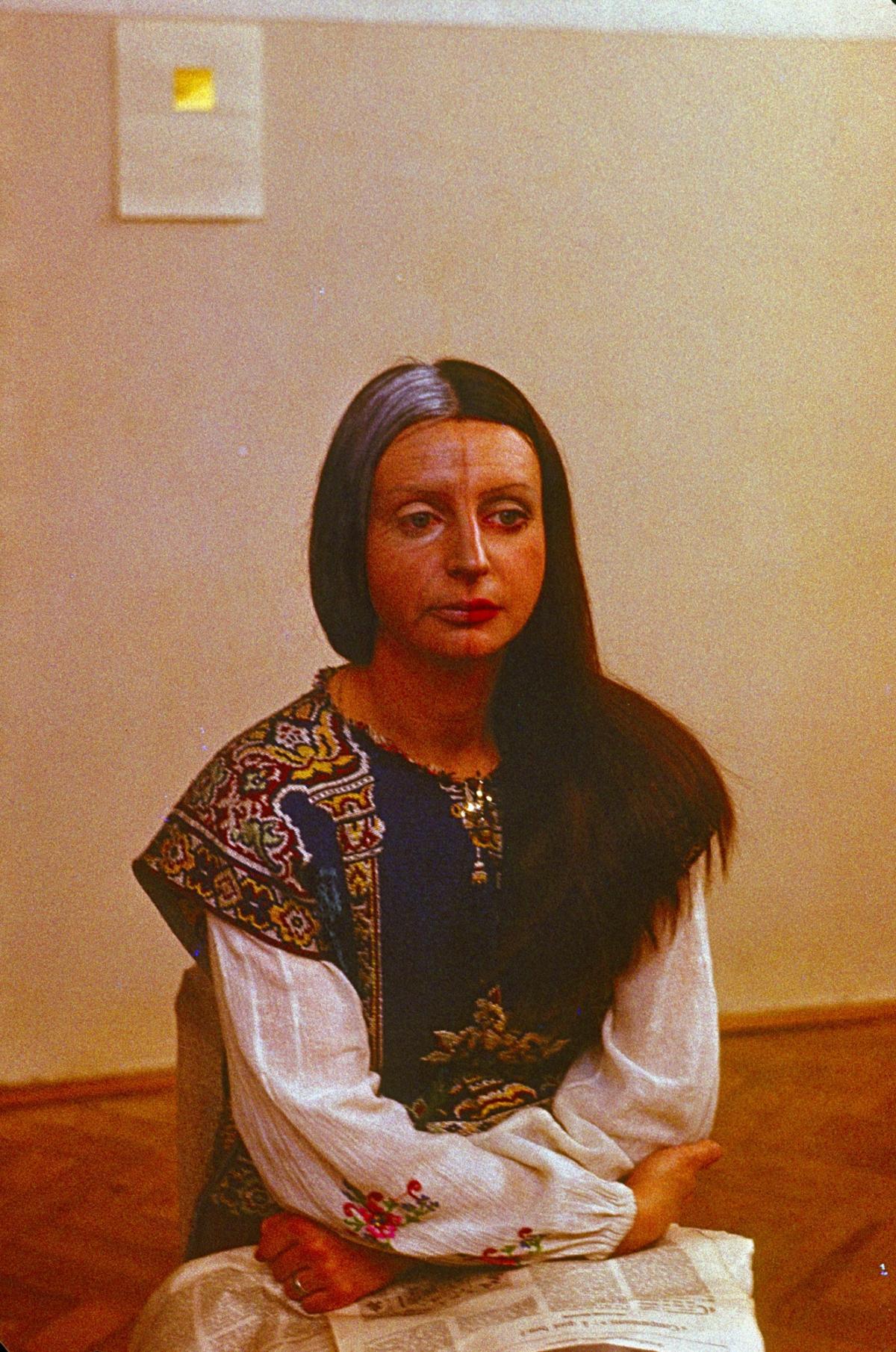 """""""Ewa Partum. Moja galeria jest ideą. Archiwum Galerii Adres"""" wGalerii Studio"""