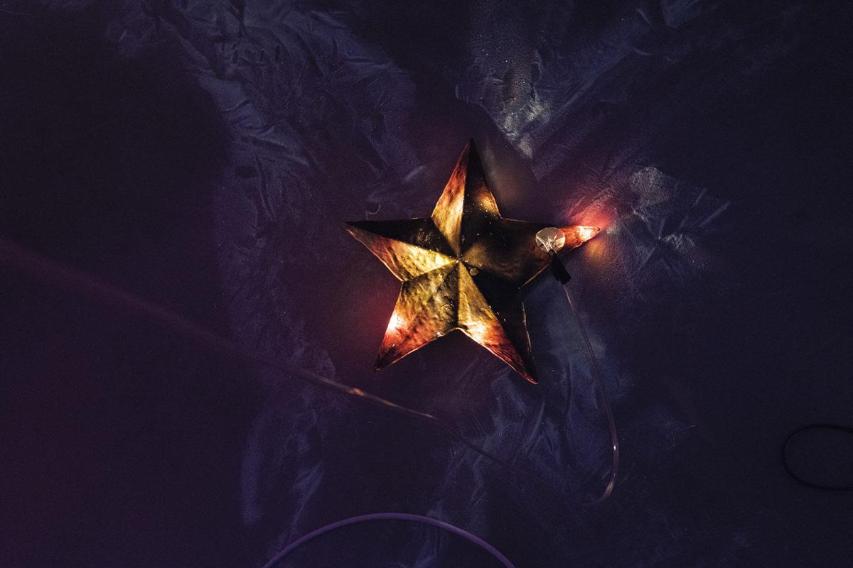 """""""Stars cry"""" Marty Krześlak wGdańskiej Galerii Miejskiej"""