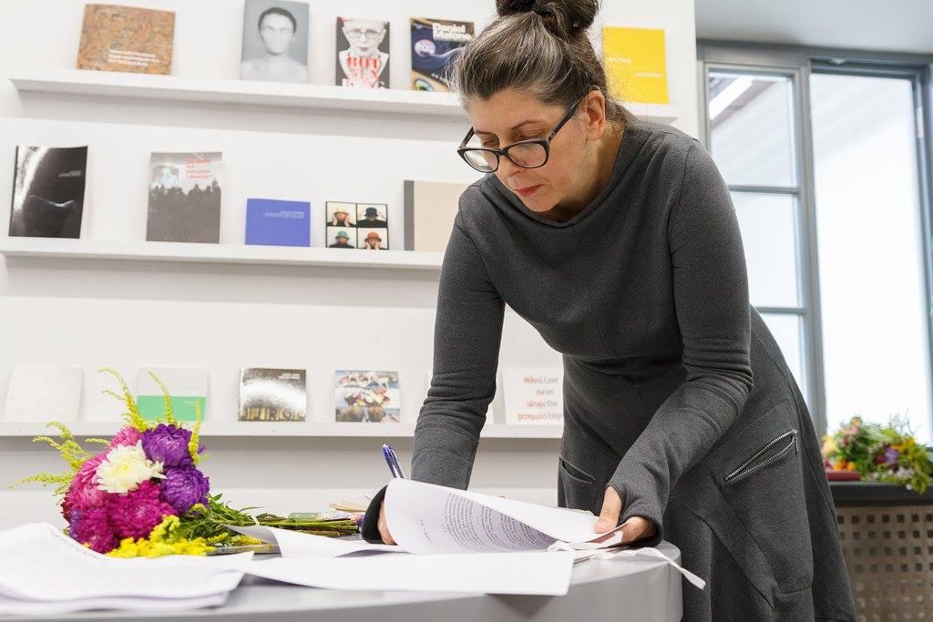 Monika Szewczyk jedyną kandydatką nastanowisko dyrektorki Galerii Arsenał wBiałymstoku