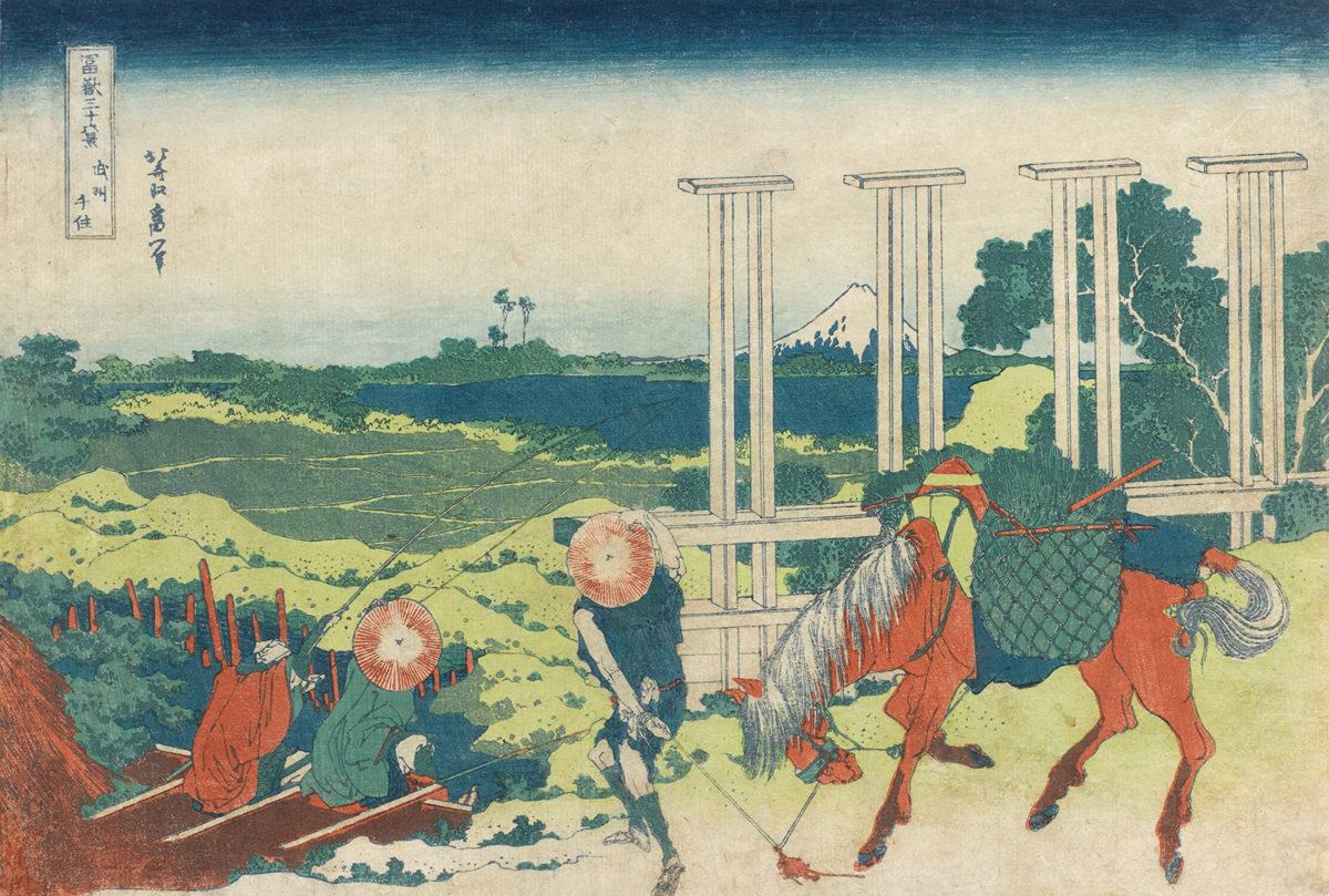"""""""Mistrzowie ukiyo-e"""" wMuzeum Sztuki iTechniki Japońskiej Manggha"""