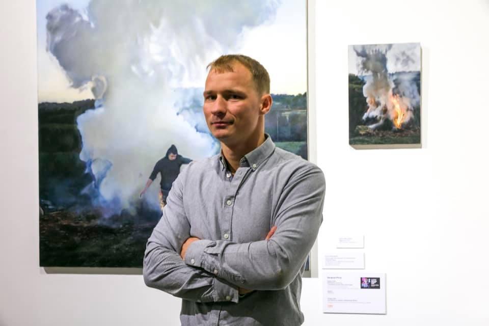 Karol Palczak laureatem 44. Biennale Malarstwa Bielska Jesień 2019
