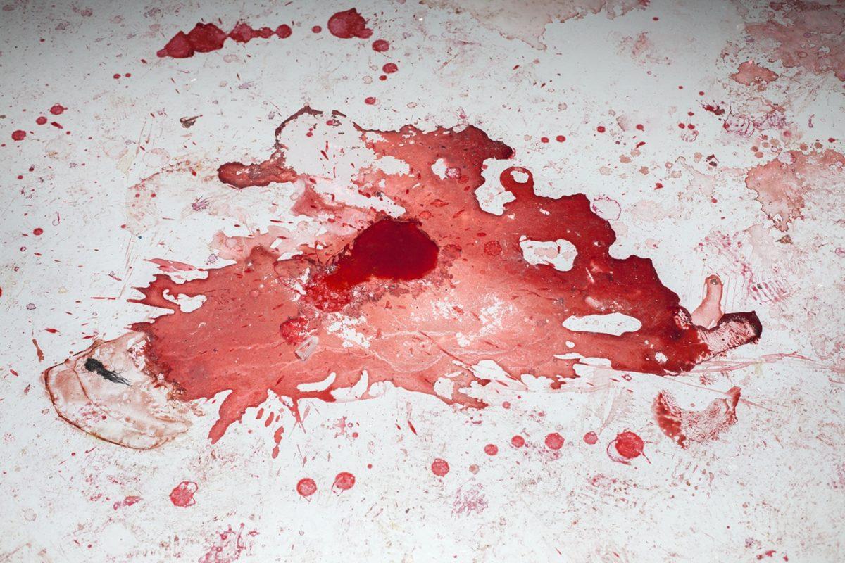 """Radość zcudzego cierpienia. """"ASS.DEATH.DICKS (czyt.aesthetics)"""" Horacego Muszyńskiego wProject Roomie CSW Zamek Ujazdowski"""