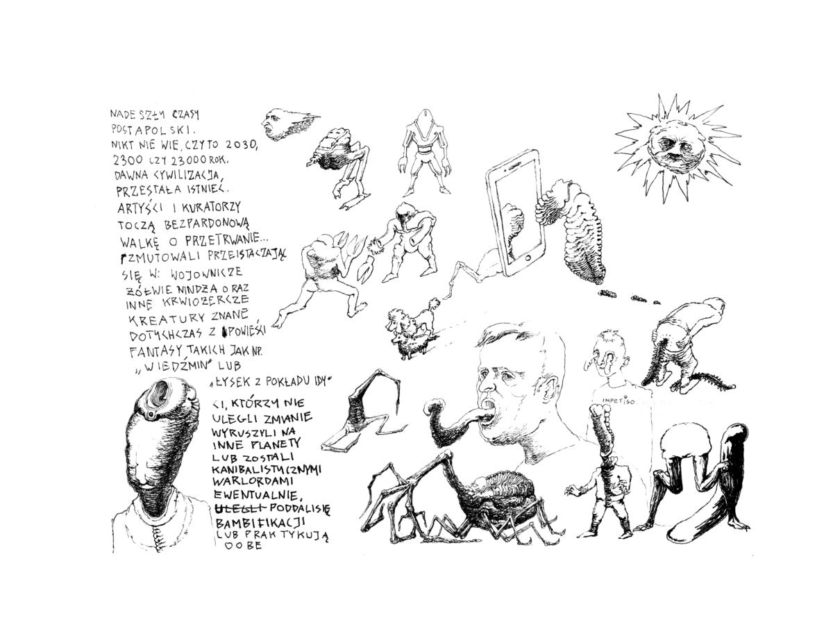 Alfabet Starych. Sztuka polska 2040
