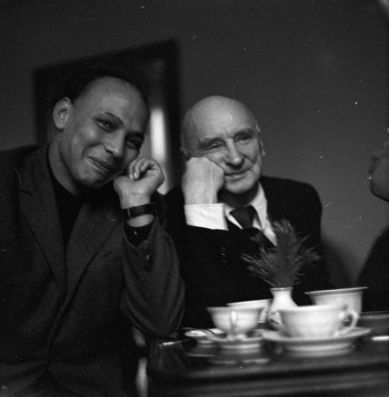 """""""Ahmed Cherkaoui wWarszawie. Polsko-marokańskie relacje artystyczne (1955–1980)"""" wZachęcie"""