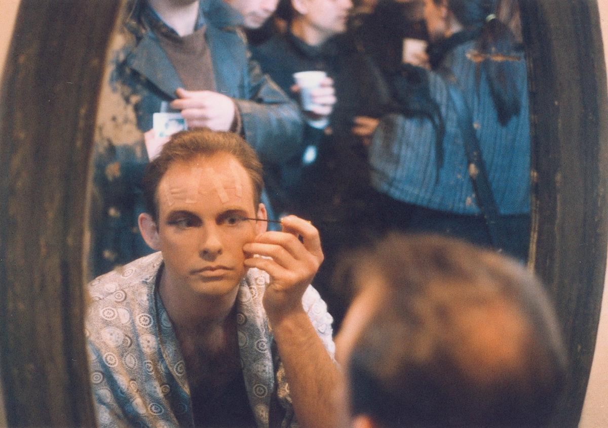 Hunter Reynolds iPiotr Nathan wGalerii Dziekanka, 1991*