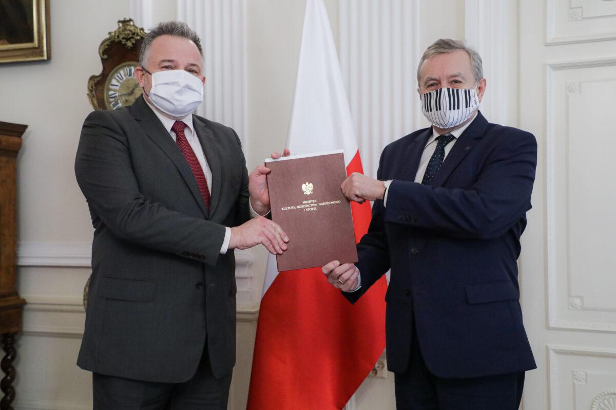 Łukasz Gaweł mianowany nadyrektora Muzeum Narodowego wWarszawie