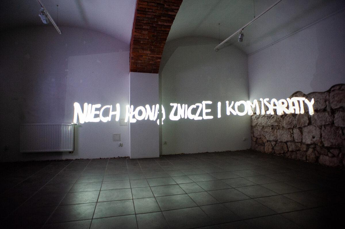 """""""Krąg obfitości"""" iobrazy zamknięcia. Cracow Art Week Krakers 2020"""