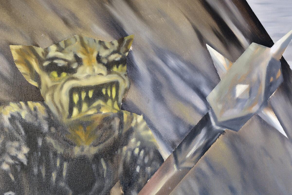 """""""Znowu jedna ztych cholernych bestii"""" Bezimiennego wGalerii Widna"""