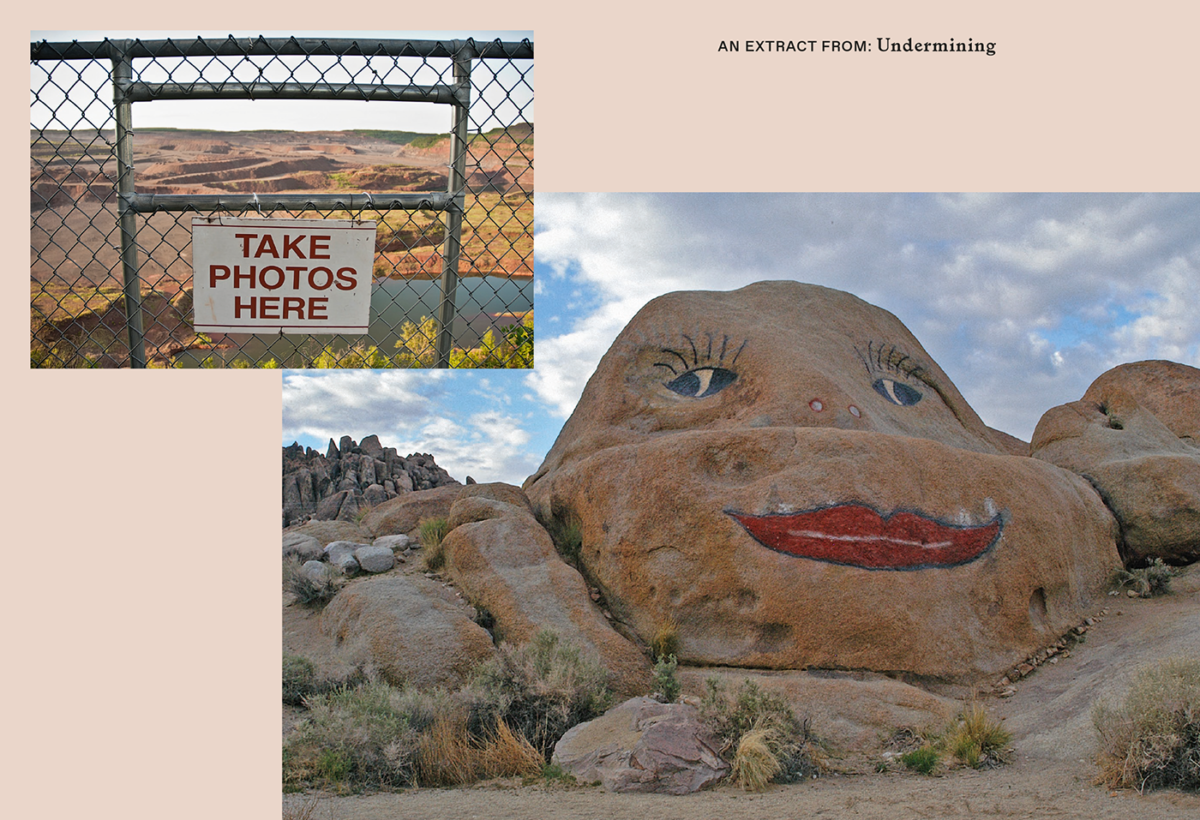 """""""Undermining. AWild Ride through Land Use, Politics, and Art in the Changing West"""" [Podkopywanie. Szalona podróż przezziemię, politykę isztukę nazmieniającym się Zachodzie]*"""