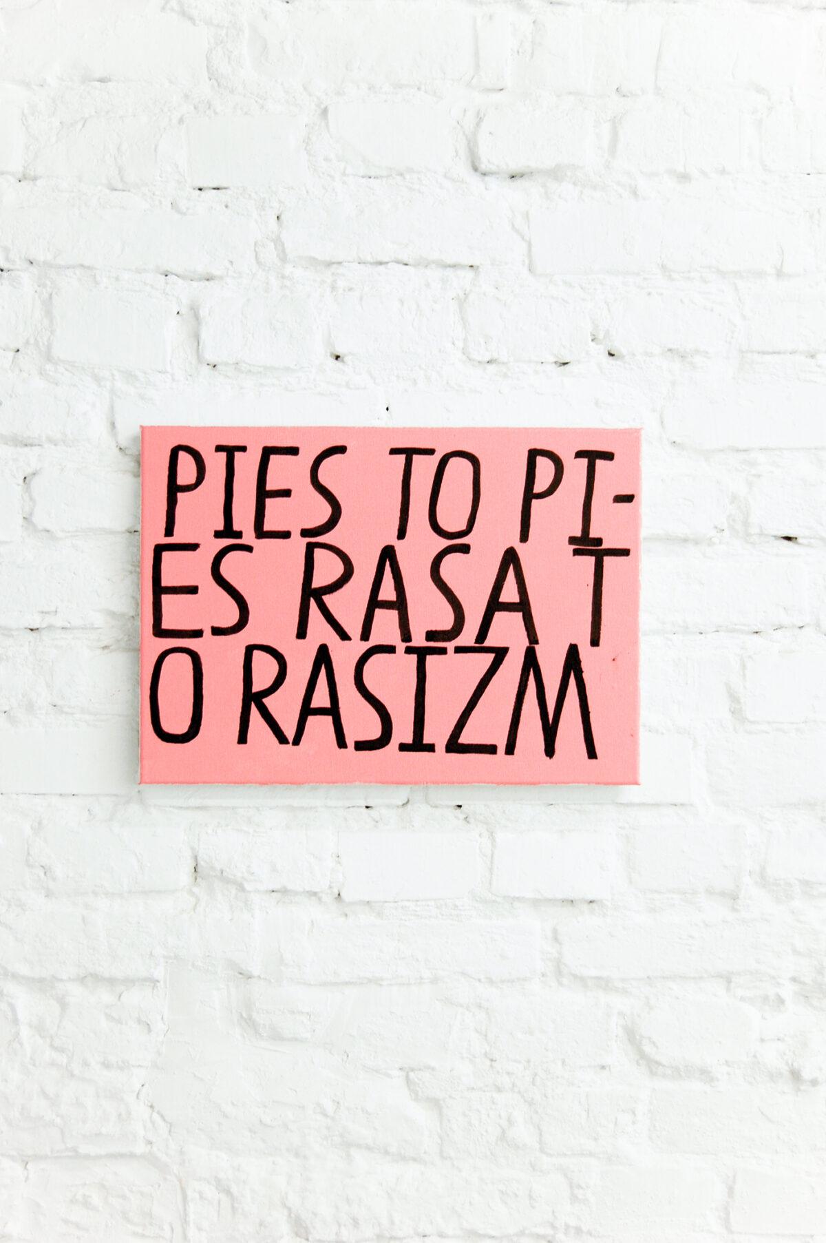 """""""Psizm"""" Bolesława Chromrego, Bartosza Zaskórskiego, Garego, Kazia iTofu wgalerii Łęctwo"""
